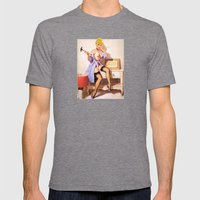 Cinderella - Pinup Versi… Mens Fitted Tee Tri-Grey SMALL