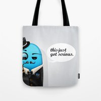 Serious Business Tote Bag