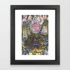 jellygirl Framed Art Print