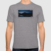Mt Rainier @ Sunset Mens Fitted Tee Athletic Grey SMALL