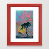 Dream Forest Framed Art Print