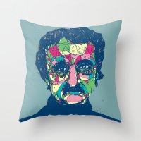 Edgar Allan Poe 1809 - 1849 Throw Pillow