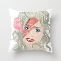 Dolly Stardust Throw Pillow