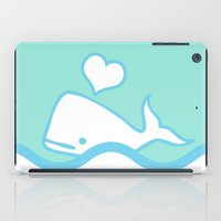 Whale Lover iPad Case