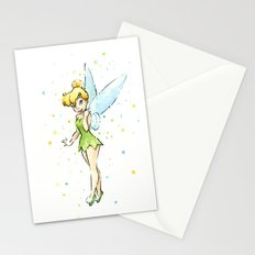 Fairy Watercolor Stationery Cards