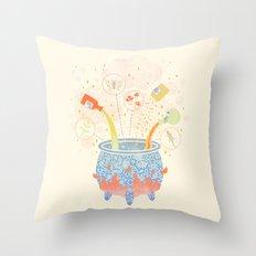 Dream Potion Throw Pillow