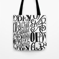 ....Oh What A Beautiful … Tote Bag