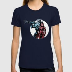 No Shepard Without Vakar… Womens Fitted Tee Navy SMALL