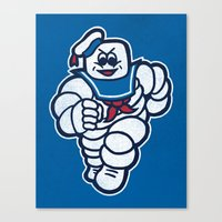 Marshmelin Man Canvas Print