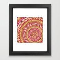 Mandala 158 Framed Art Print