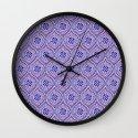 Purple Pop Wall Clock