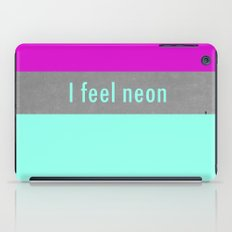 Concrete & Neon iPad Case