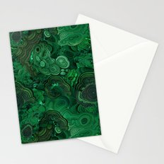 malachite Stationery Cards