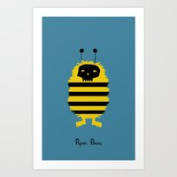 Roar. Buzz. Art Print