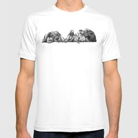 The Last Supper Mens Fitted Tee White SMALL