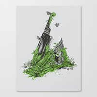 Silent Decay Canvas Print