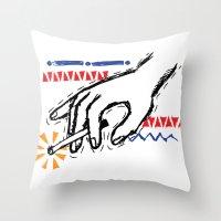Impulse Throw Pillow