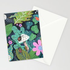 Beetle Pattern Stationery Cards