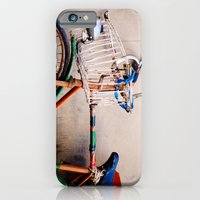 iPhone & iPod Case featuring I want to ride my bicycle by Drinu Camilleri