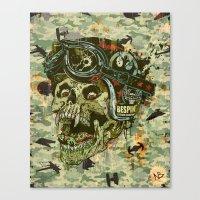 Rebel Rider Canvas Print