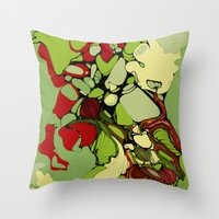 Orangery Throw Pillow