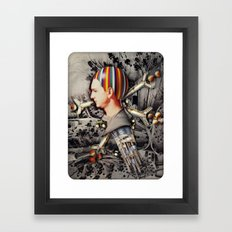 My Precious | Collage Framed Art Print