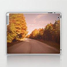 Autumn Road Laptop & iPad Skin