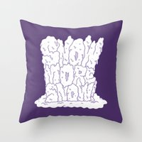 SNOw More Snow! Throw Pillow