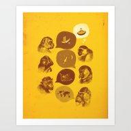 Bananaz Art Print