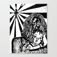 Sadness  Canvas Print