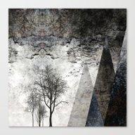 TREES Besides MAGIC MOUN… Canvas Print