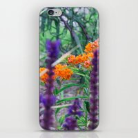 Between The Purples And … iPhone & iPod Skin