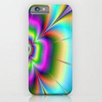Neon Flower iPhone 6 Slim Case