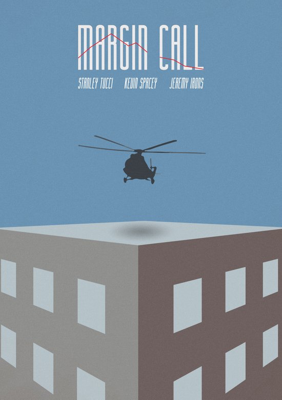 Margin Call, Minimal Movie Poster Art Print