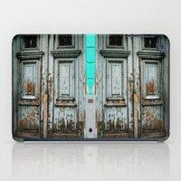 Turquoise Door iPad Case