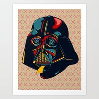 Colour Star Wars Art Print