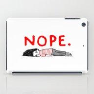Nope iPad Case
