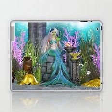 Mermaid Treasure Laptop & iPad Skin