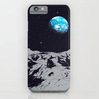 iPhone Cases featuring From the Moon by carbine