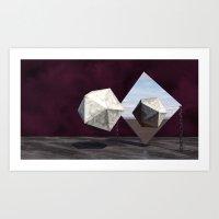 Six & Fi… Art Print