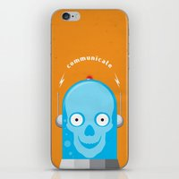 Communicate iPhone & iPod Skin