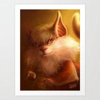 ThunderCats Collection - Snarf Art Print