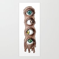 I Have My Eyes On You Art Print