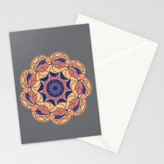 Abstract Tiles Stationery Cards