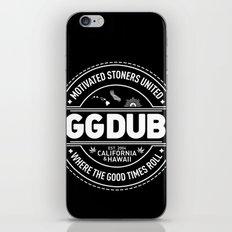 Motivated stoners iPhone & iPod Skin
