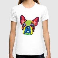 dog T-shirts featuring dog by mark ashkenazi