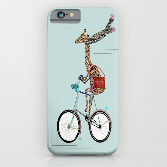 Giraffes School Days  iPhone & iPod Case