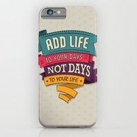 iPhone & iPod Case featuring Life by Gal Ashkenazi