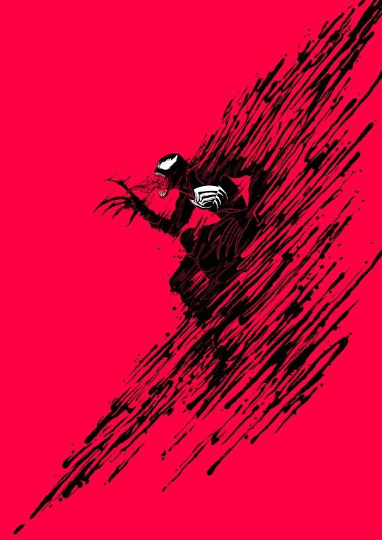 The Ink of Venom Art Print
