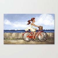Happiness! Canvas Print